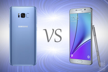 Samsung Galaxy S8+ vs Galaxy Note 5