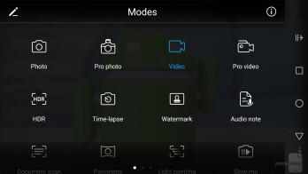 Camera UI of the Huawei P10 Lite - Huawei P10 Lite Review