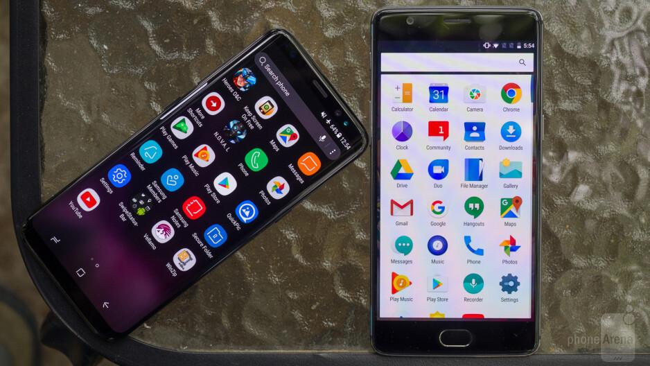 Samsung Galaxy S8 vs OnePlus 3T