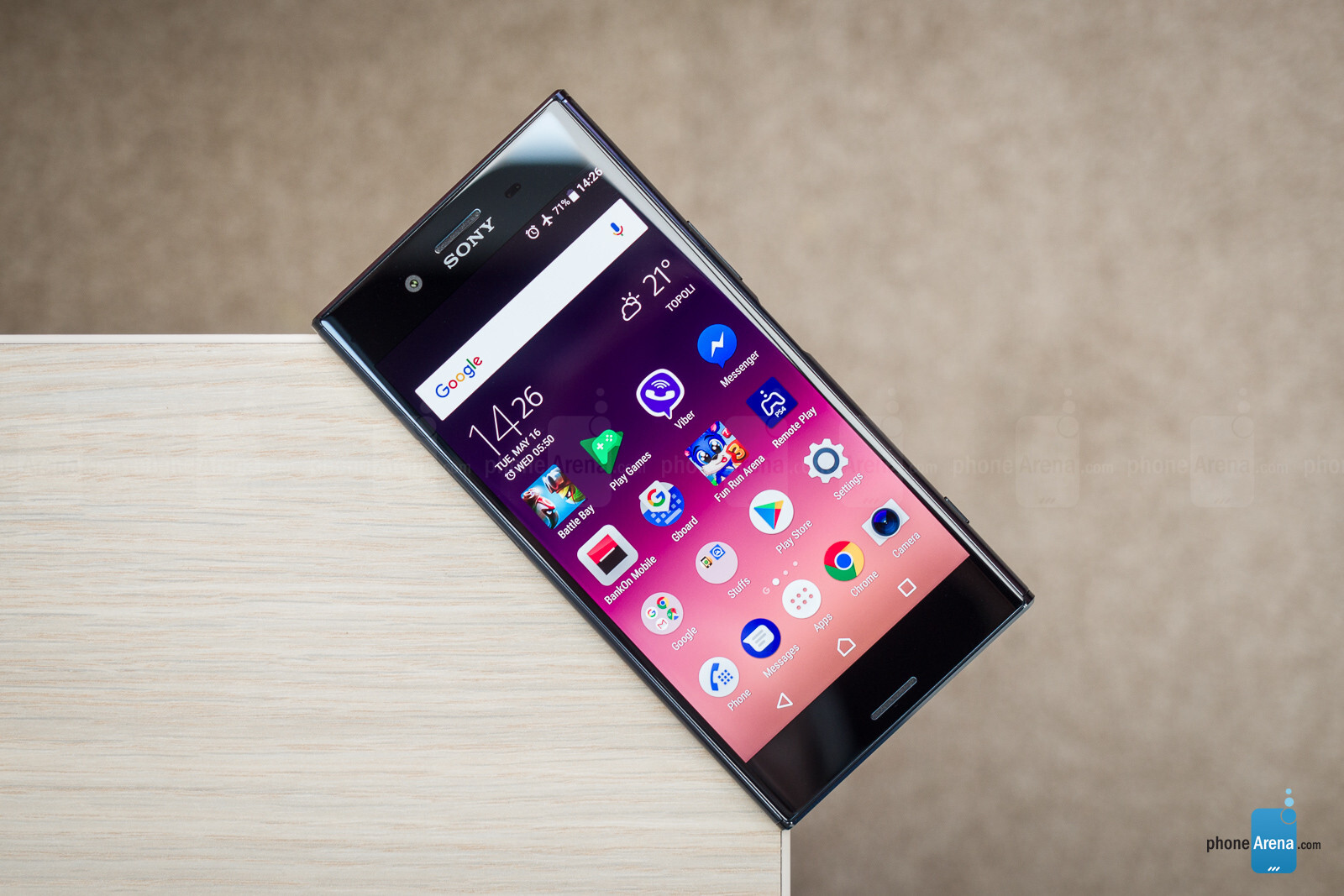 how to put sony xperia on speaker phone