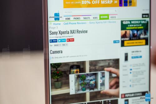 Sony Xperia XA1 Ultra Review