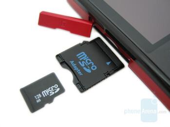 MiniSD card slot - Motorola Q9m Review