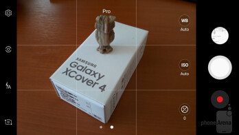 Camera interface - Samsung Galaxy Xcover 4 Review