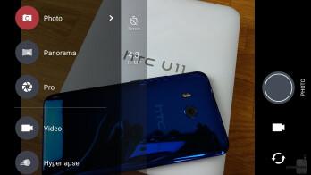 Camera UI - HTC U11 Review