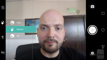 Camera interface - Motorola Moto E4 Plus Review