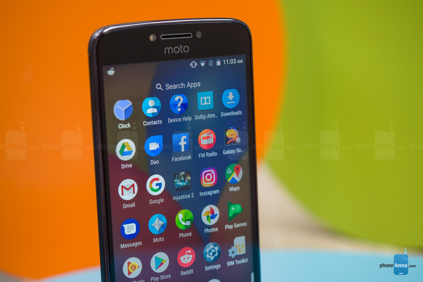 Motorola Moto E4 Plus Review - Interface and functionality