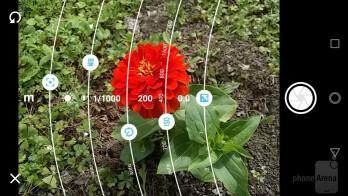 Camera interface - Motorola Moto E4 Review