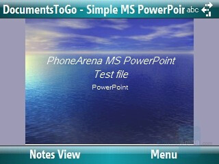 PowerPoint presentation - Motorola Q9m Review