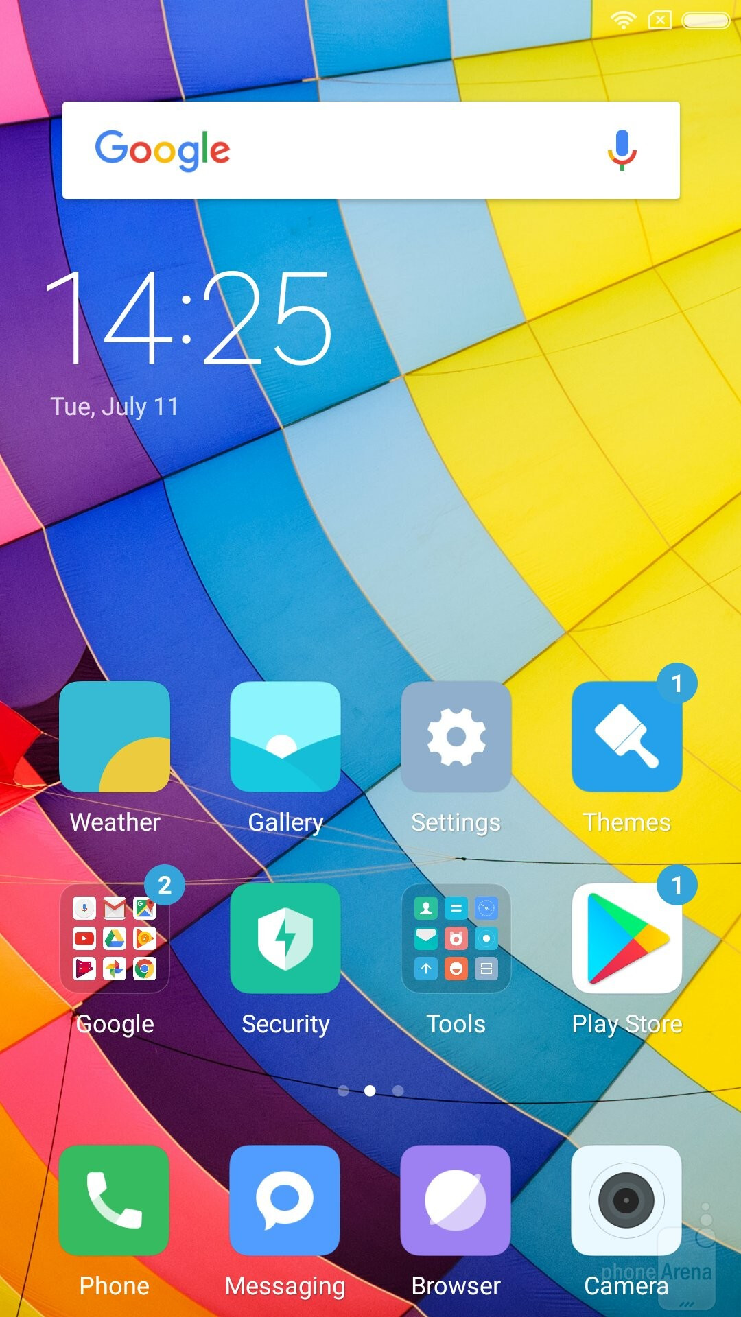 Xiaomi's in-house MIUI Android skin