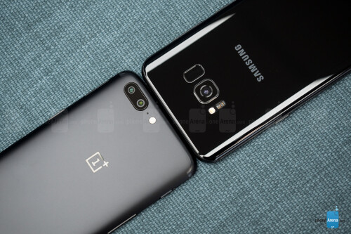 OnePlus 5 vs Samsung Galaxy S8+