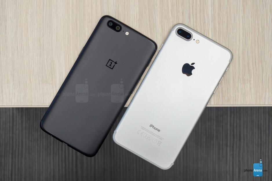 OnePlus 5 vs Apple iPhone 7 Plus