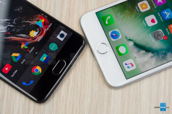 OnePlus 5 vs Apple iPhone 7 Plus