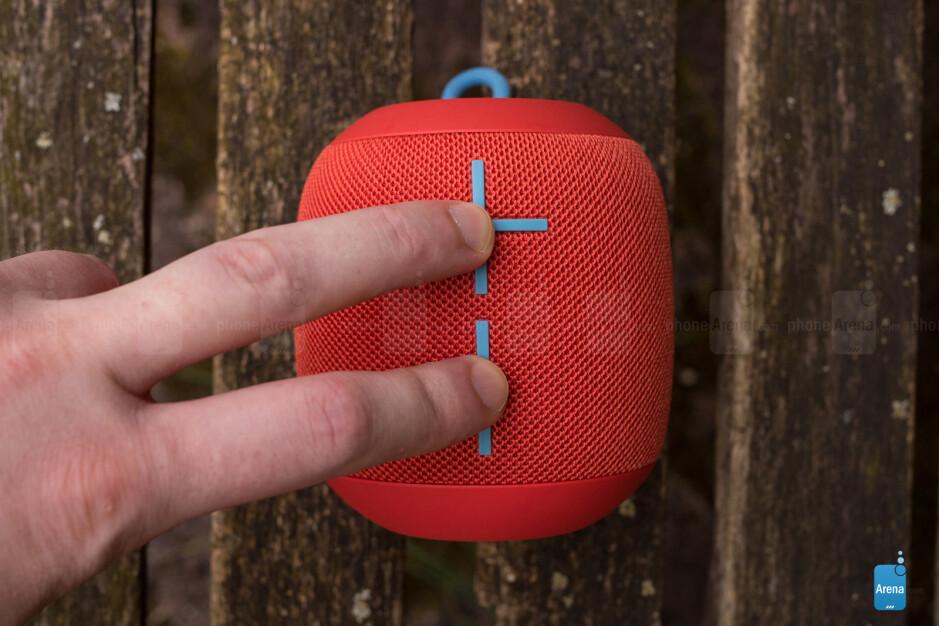 Checking remaining battery life - UE Wonderboom Bluetooth speaker review