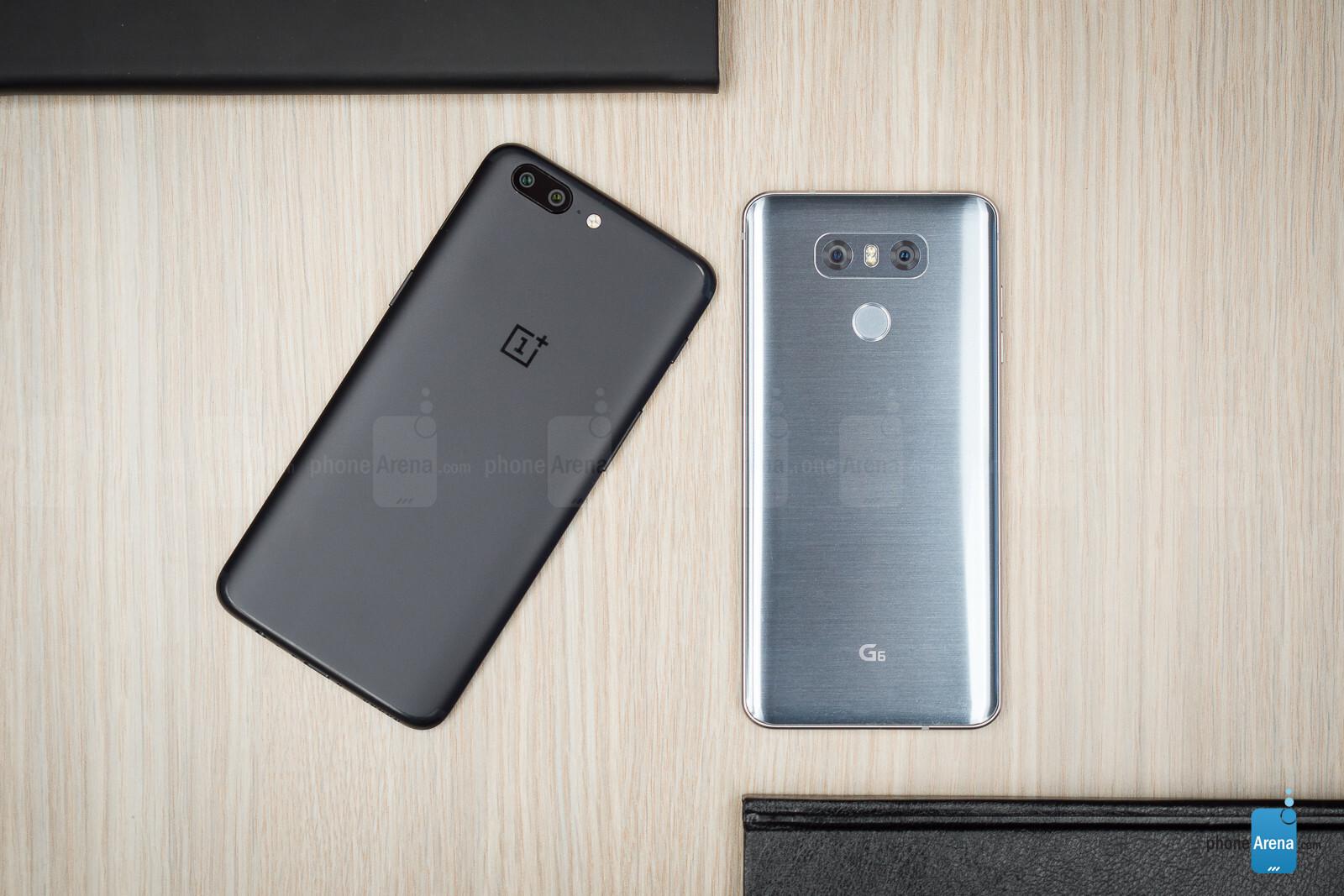 OnePlus 5 vs LG G6 - PhoneArena
