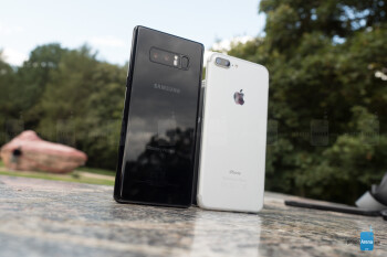 IPHONE 6S VS SAMSUNG NOTE 8