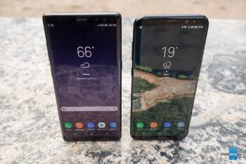 Samsung Galaxy Note 8 vs Galaxy S8+