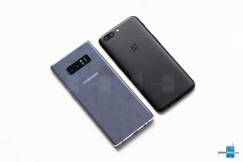 Samsung Galaxy Note 8 vs OnePlus 5