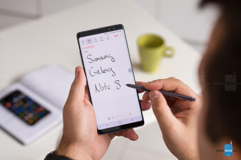 Productivity is a great strength of the Galaxy Note 8 - Samsung Galaxy Note 8 vs OnePlus 5