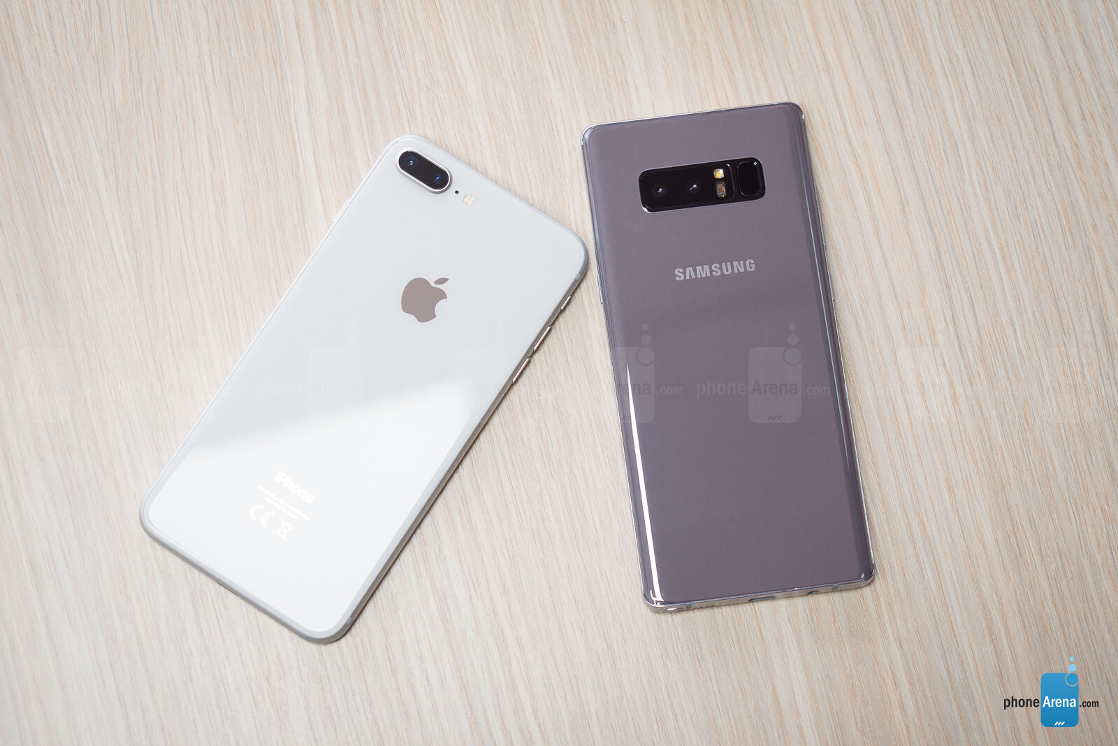 Apple IPhone 8 Plus Vs Samsung Galaxy Note