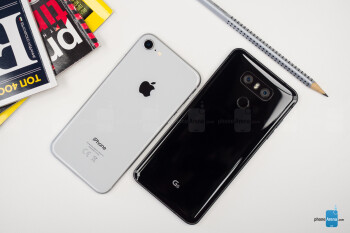 Apple iPhone 8 vs LG G6