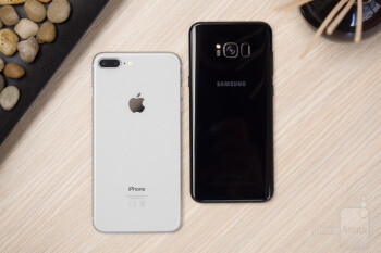 Iphone 8 Plus Vs Samsung S8 Plus
