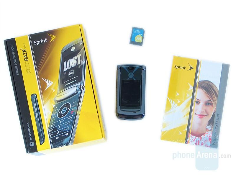 Motorola RAZR2 V9m Sprint Review