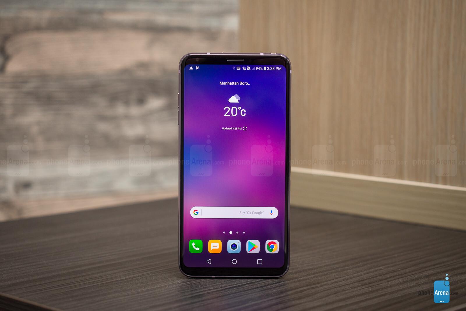 Lg V30 Android 8