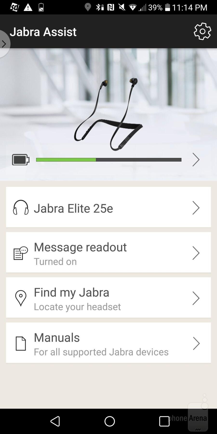 The Jabra Assist app