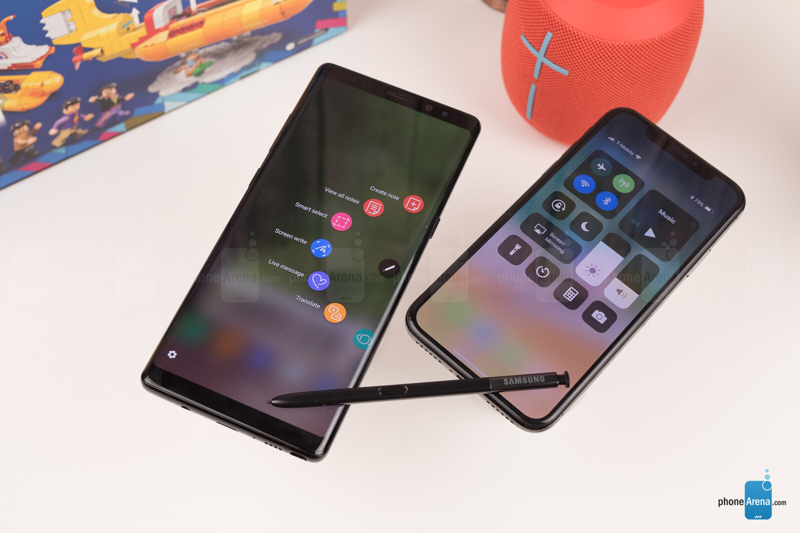 iphone x vs note 8 review