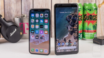 Apple iPhone X vs Google Pixel 2 XL