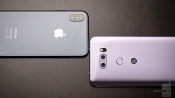 Apple iPhone X vs LG V30