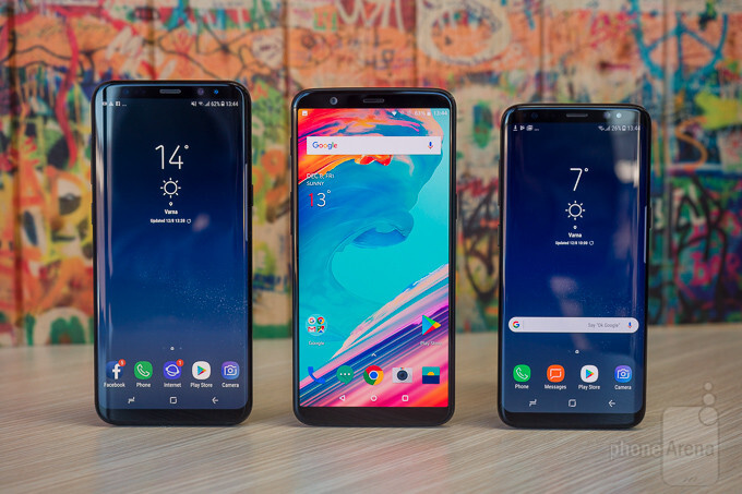 OnePlus 5T vs Samsung Galaxy S8 and Galaxy S8+ - PhoneArena