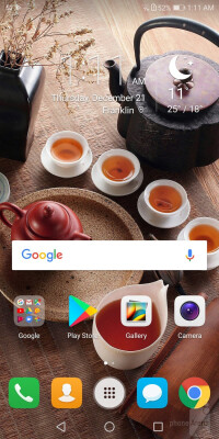The Honor 7X runs Emotion UI 5.1, built on Android Nougat
