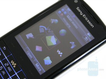 2.6 inches QVGA display - Sony Ericsson W960 Preview
