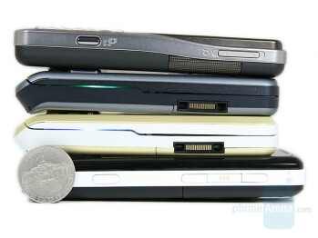 Sony Ericsson W960, Sony Ericsson S500, Sony Ericsson W580, Sony Ericsson K530 (from left to right and bottom to top) - Sony Ericsson W960 Preview