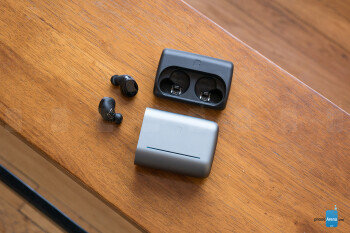 The battery charging case - Bragi Dash Pro wireless earphones Review