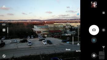 Camera interface - Sony Xperia XA2 and Xperia XA2 Ultra Review