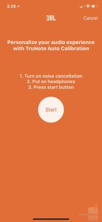 The My JBL Headphones app