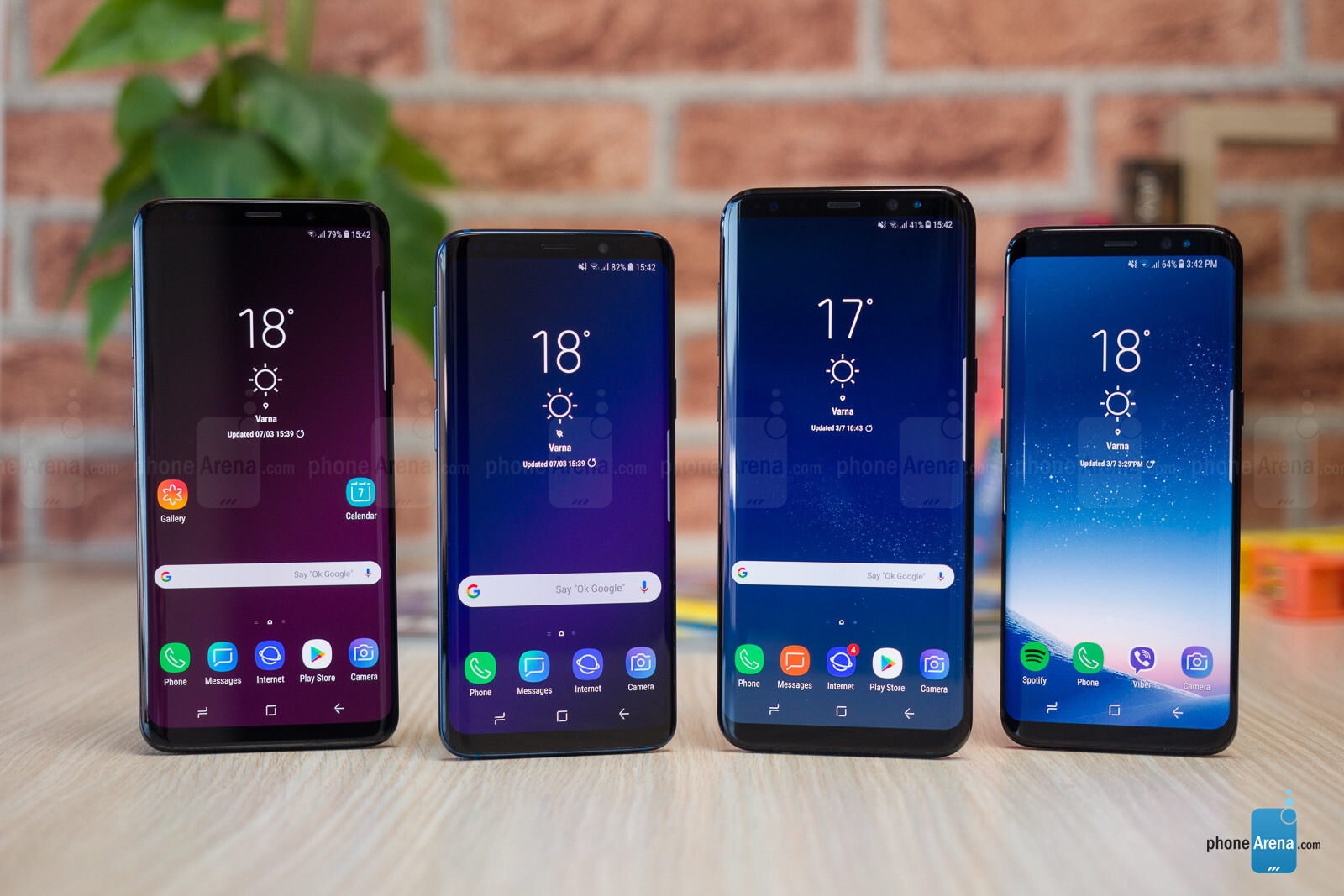 Samsung Galaxy S9 and S9+ vs Galaxy S8 and S8+ - PhoneArena