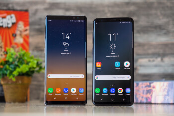 Samsung Note 8 Vs S9 Plus