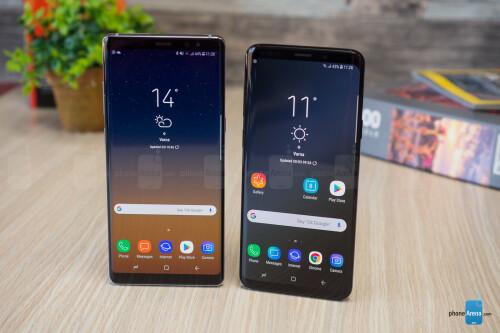 Samsung Galaxy S9+ vs Galaxy Note 8