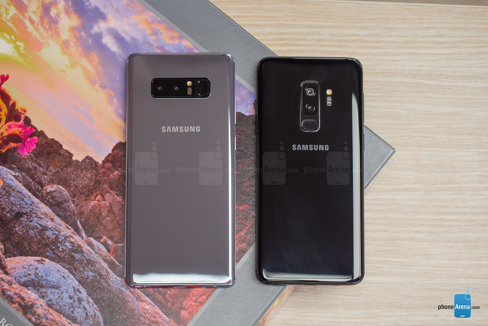 SAMSUNG S9 PLUS VS NOTE 8