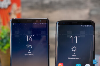 Samsung Galaxy S9+ vs Galaxy Note 8
