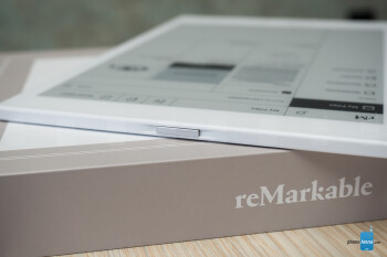 Power button on top - reMarkable tablet review