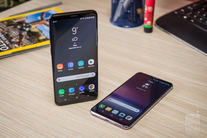 Samsung Galaxy S9+ vs LG V30 - PhoneArena