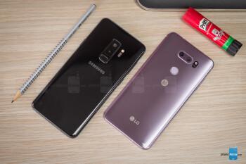 Samsung Galaxy S9+ vs LG V30