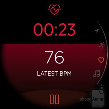 Activity tracking - Misfit Vapor smartwatch Review
