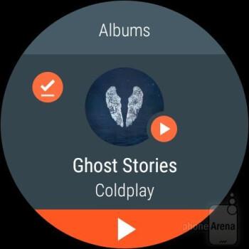 Music player - Misfit Vapor smartwatch Review