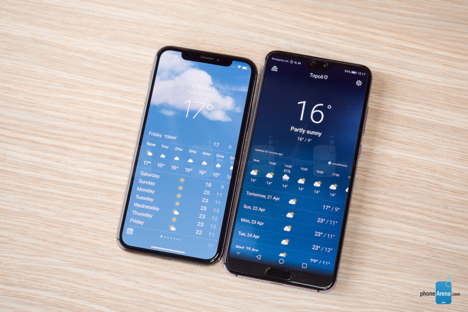 It's obvious how the P20 series copy the iPhone X - Huawei P20 & P20 Pro Review