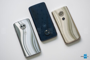 Left to right - Moto G6, G6 Plus, G6 Play - Motorola Moto G6, G6 Plus and G6 Play Review